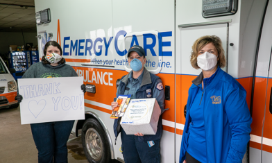 NPRC & Pitt-Titusville Thank Local Healthcare Heroes On Nurse Appreciation Day