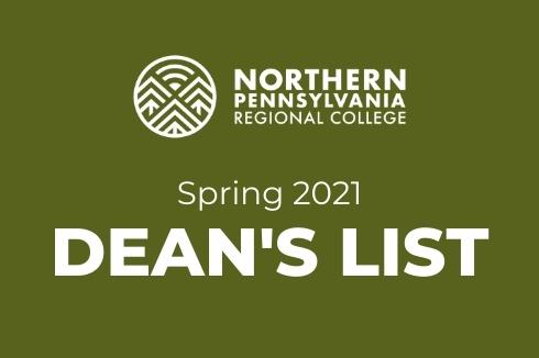NPRC Announces Dean's List for Spring 2021