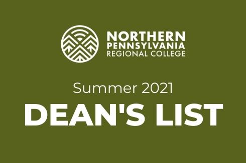 Dean's List Summer 2021 Announced